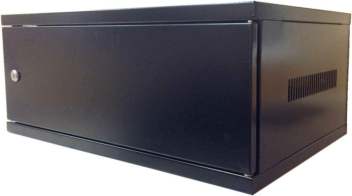 Electriduct 4U Wall Mount Rack Enclosure Server Network Cabinet - Solid Door (New Model)