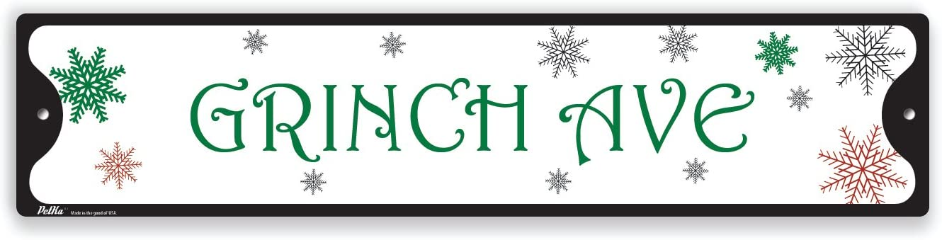 White on Green PetKa Signs and Graphics PKSS-0094-NA/_18x4Redhead Rd Aluminum Sign 18 x 4