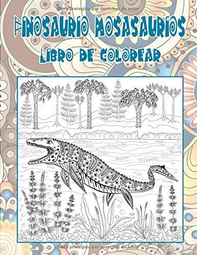 Dinosaurio mosasaurios - Libro de colorear