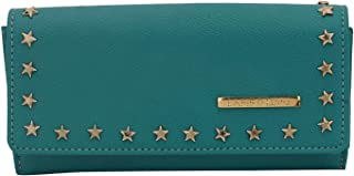 Lapis O Lupo Berly Women Clutch (Turquoise) Multi-functional pocket design