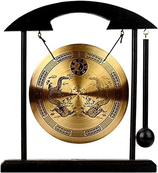 Zen Art Brass Feng Shui Desktop Gong W Fengshuisale Red String Bracelet H1302