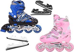 Nils Extreme Inlineskates Rolschaatsen, voor kinderen, verstelbaar, # 2-in-1 inline skates