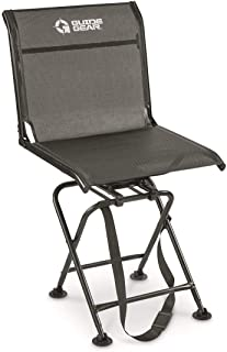 Guide Gear Big Boy Comfort Swivel Hunting Blind Chair, 500-lb. Capacity