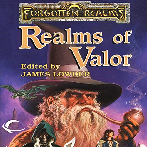 Realms of Valor audiobook cover art