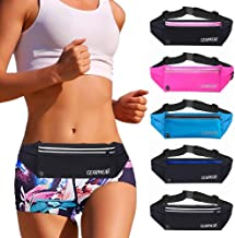 GEARWEAR Running Belt Waist Pack Fanny Bag for iPhone 7 8 Plus X Holder Cell Phone Holder Pouch for Workout Sports Walking Fitness Exercise Marathon