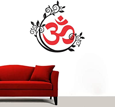 Sticker Studio Om Wall Sticker & Decal (PVC Vinyl,60 x 58 cm)