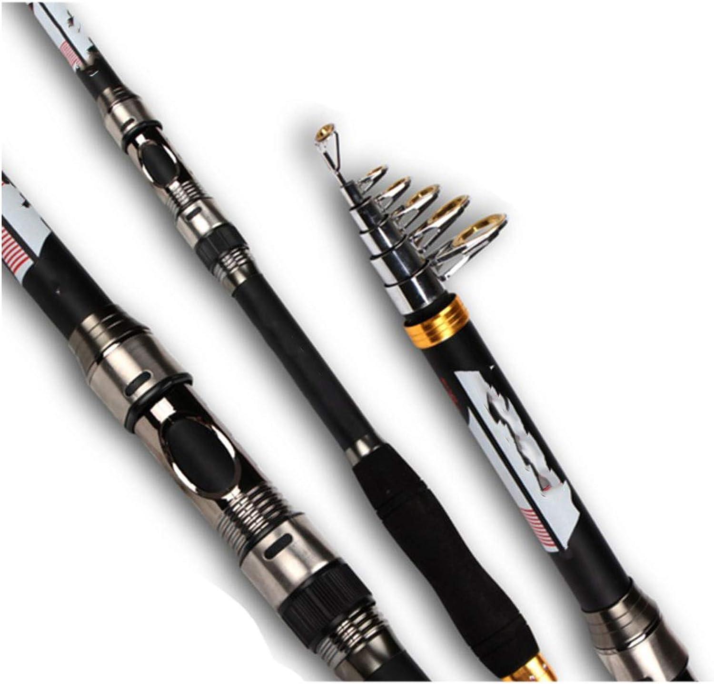 Forever Long Fiber Fishing Rod Telescopic Spinning rods 2.1m 2.4m 2.7m 3.0m  3.6m Spinning Rod Superhard for Fresh Salt Water