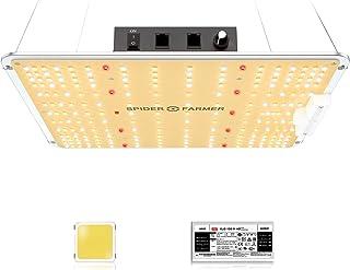 Spider Farmer SF-1000 Quantum Board LED Grow Light ، با تراشه های سامسونگ و درایور MEAN WELL ، طیف کامل 3000K 5000K 660nm 760nm IR برای گیاهان داخلی گل گیاه وگ ، جایگزین سایر چراغ های مارک 1000W 1200W