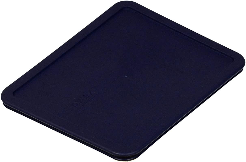 PYREX Blue 11 Cup Rectangular Plastic Cover Blue 1