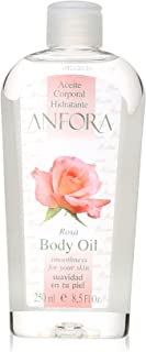 Anfora Aceite Corporal Rosa Body Oil, 8.5 Fluid Ounce