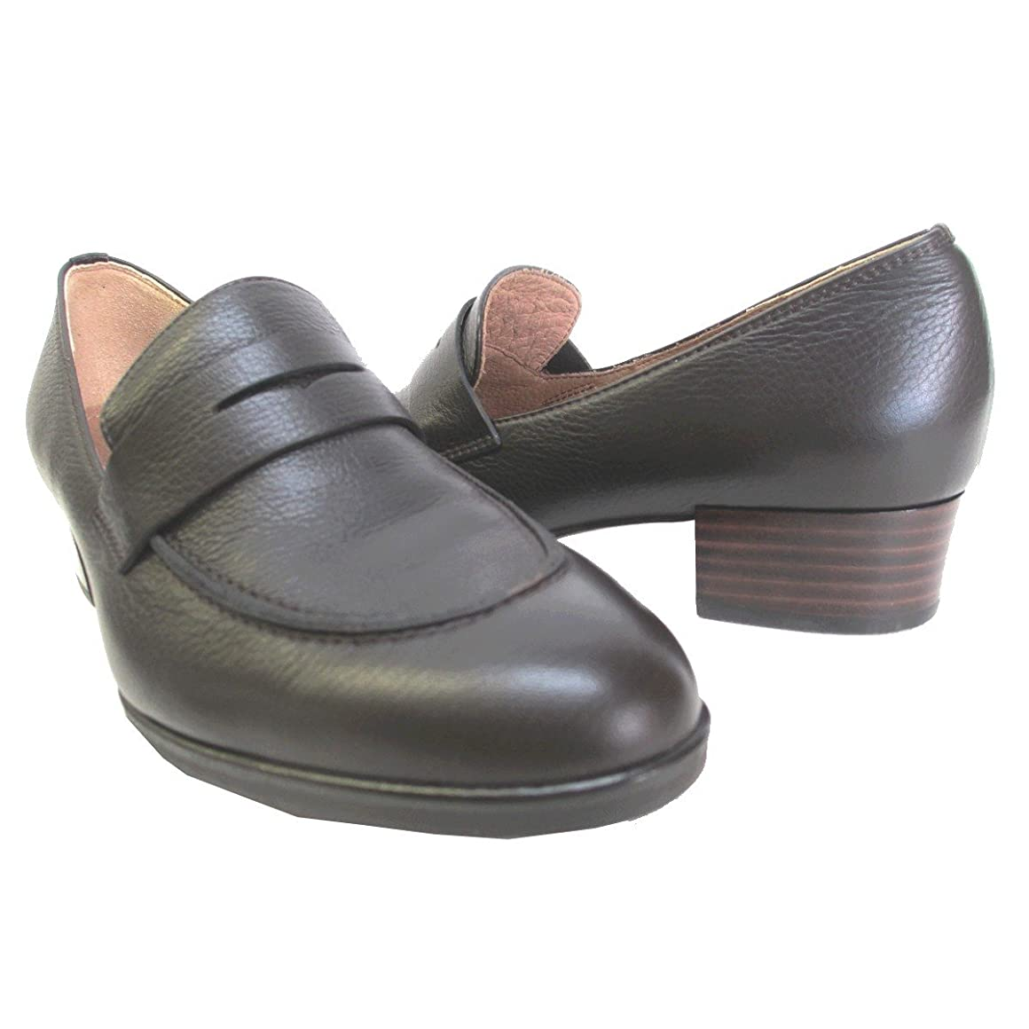 包帯宇宙バンク[イング] NG 2201 レディース ヒールアップ ローファー 日本製 通勤靴 仕事靴