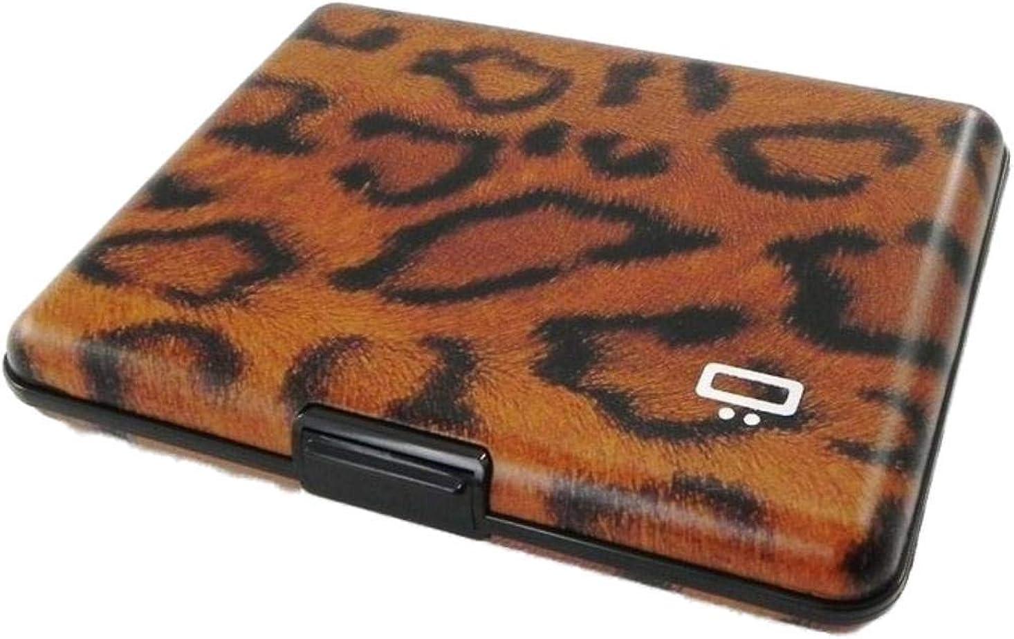 Ogon Designs Large Aluminum Wallet Case Card Blocking Max 80% OFF RFID Leopa New arrival