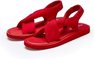 Hetios Womens Non-Slip Sling Back Lightweight Girls Flat Flip Flops Yoga Sandals Lightweight Sandals for Women Flip Flops ...