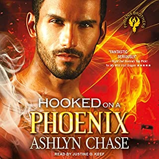 Hooked on a Phoenix audiobook cover art