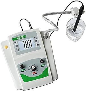 BAOSHISHAN Lab PH Meter Desktop Digital PH Tester Composite Electrode High Accuracy ±0.01pH Temperature Compensation