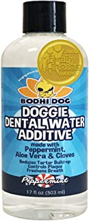New Peppermint Fresh Breath Dental Water Additive for Dogs and Pets | Teeth, Breath, and Healthy Gums | Best for Tartar Cl...