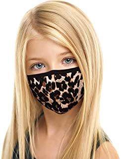 Kids Made in USA Kids/Youth Cute 3D Face Mask – Protective, Reusable, Comfortable and Breathable Mouth and Nose Cover