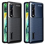 ivoler 2 Pack Case for Oppo Find X2 Pro, Silicone Resilient