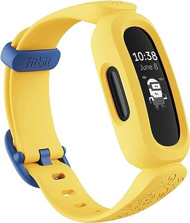 Fitbit Ace 3 pulsera de actividad para niños de +6 años con divertidos formatos de reloj animados, Resistente al agua hasta 50 m y hasta 8 días de batería