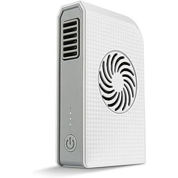 Power Bank Portátil Mini Bolsillo 6000mAh USB ventilador del refrigerador Recargable Eléctrica Nuevo