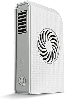 携帯型扇風機 モバイルバッテリー兼用 サーキュレーター3段階風量切り替え USB充電式熱中症対策