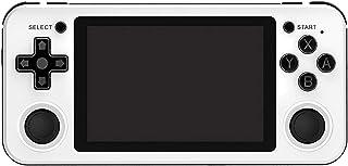 Delaspe Console de Jeu rétro Rg351p 3.5 Pouces Portable écran IPS Lecteur de Jeu Jeu vidéo Compatible pour Les systèmes Li...