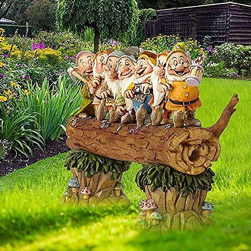 Yongqin Gartenzwerg-Statue Sieben...