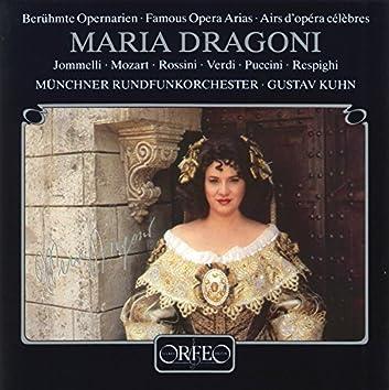 Jommelli, Mozart, Puccini, Respighi, Rossini & Verdi: Famous Opera Arias