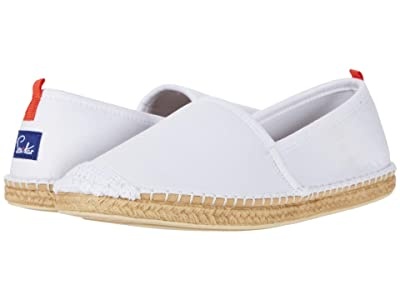 Sea Star Beachwear Beachcomber Espadrille Water Shoe (White Denim) Women