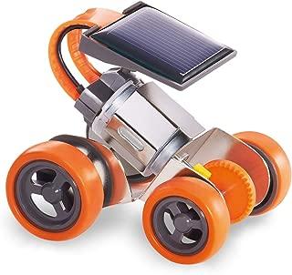 """Elenco Teach Tech """"Mini-Solar Racer"""", Build-It-Yourself Solar Powered Robot, STEM Solar Toys for Kids 8+"""