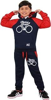 Kids Tracksuit Boys Girls Designer's Pedal Power Jogging Suit Top Bottom 7-13 Yr
