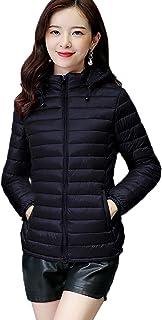 Women's Lightweight Water-Resistant Packable Hooded Jacket