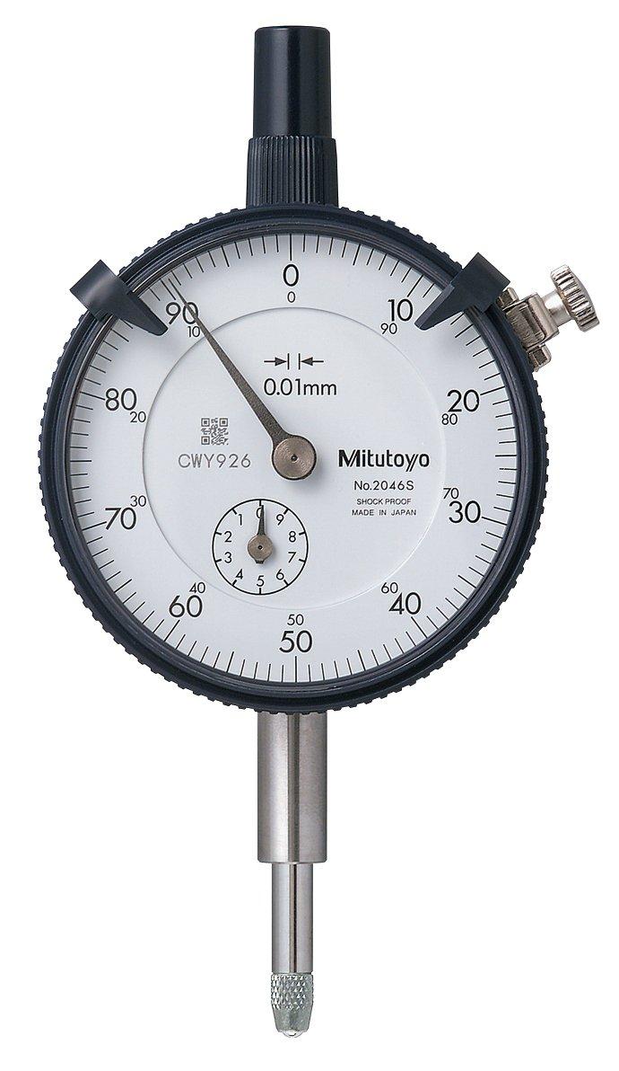 Mitutoyo 2046S - Herramienta de medición y distribución (tamaño: 0.01x10mm)