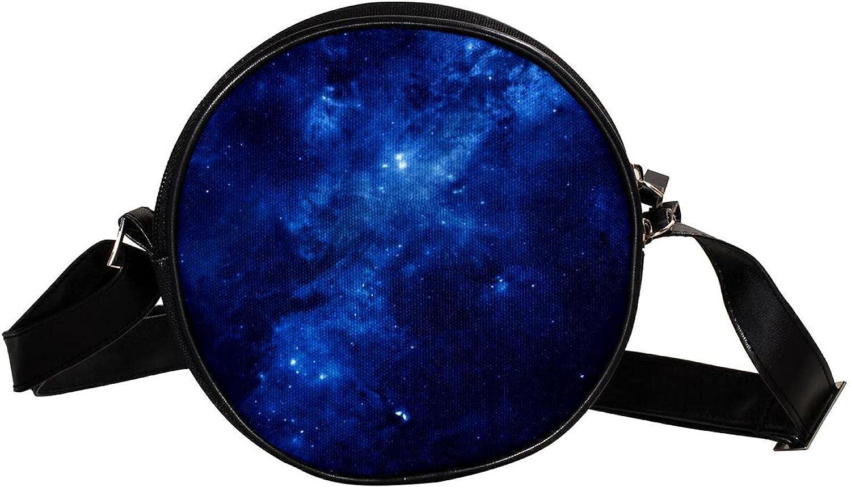 Round Crossbody NEW Shoulder Bag 12 Blue Surprise price Purse Fashion Constellation