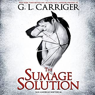 The Sumage Solution     San Andreas Shifters, Book 1              By:                                                                                                                                 G. L. Carriger                               Narrated by:                                                                                                                                 Kirt Graves                      Length: 10 hrs and 1 min     356 ratings     Overall 4.5