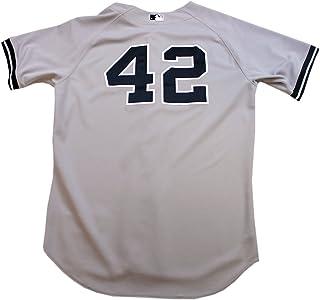 d8abc97c7a8 Mariano Rivera Jersey - NY Yankees Game Worn  42 Grey Jersey (46) (