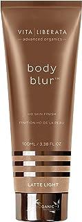 VITA LIBERATA Body vervagen HD Skin Finish | Wash-Off Body Makeup | Instant Fake Tan | Bekroonde Bronzer | Natuurlijk | 5 ...