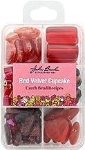 John Bead Corporation Recipe Box Red Velvet Cupcake