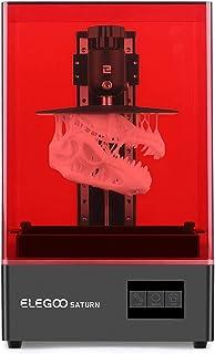 3D Bazaar Elegoo Saturn Photocuring MSLA 3D Printer UV Photocuring LCD 3D Printer with 4K Monochrome LCD, Matrix UV LED Li...