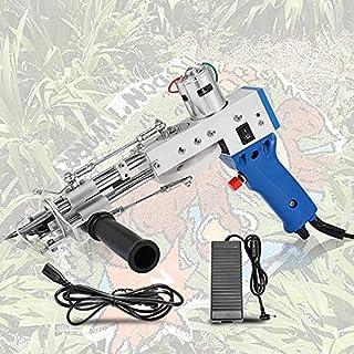 Sponsored Ad – TOPQSC Electric Carpet Tufting Gun 2400~3000r/min Loop/Cut Pile Type Hand Tufting Carpet Weaving Machine, H...