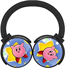 Another-Kirby- Unisex Teen Adults Wireless Bluetooth Headphones Headset Earphone Adjustable Noise-canceling Hi-Fi Earbuds
