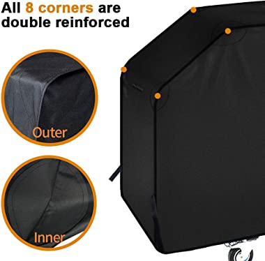 iCOVER 36 inch Griddle Cover for Blackstone, 600D Heavy Duty Waterproof Canvas Flat Top Gas Grill Cover for Blackstone 36&#34