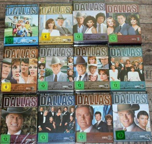 DVD Serie DALLAS Staffel 1 - 13 # 13 Staffeln # Original in Deutsch # NEU und OVP