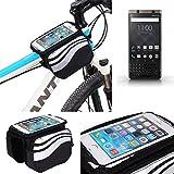 K-S-Trade® Per -Blackberry KEYone Bronze Edition- Borse Telaio Bicicletta Borsa Bici Supp...