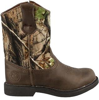 Realtree Dustin Jr Kids Boots Camo 5.5