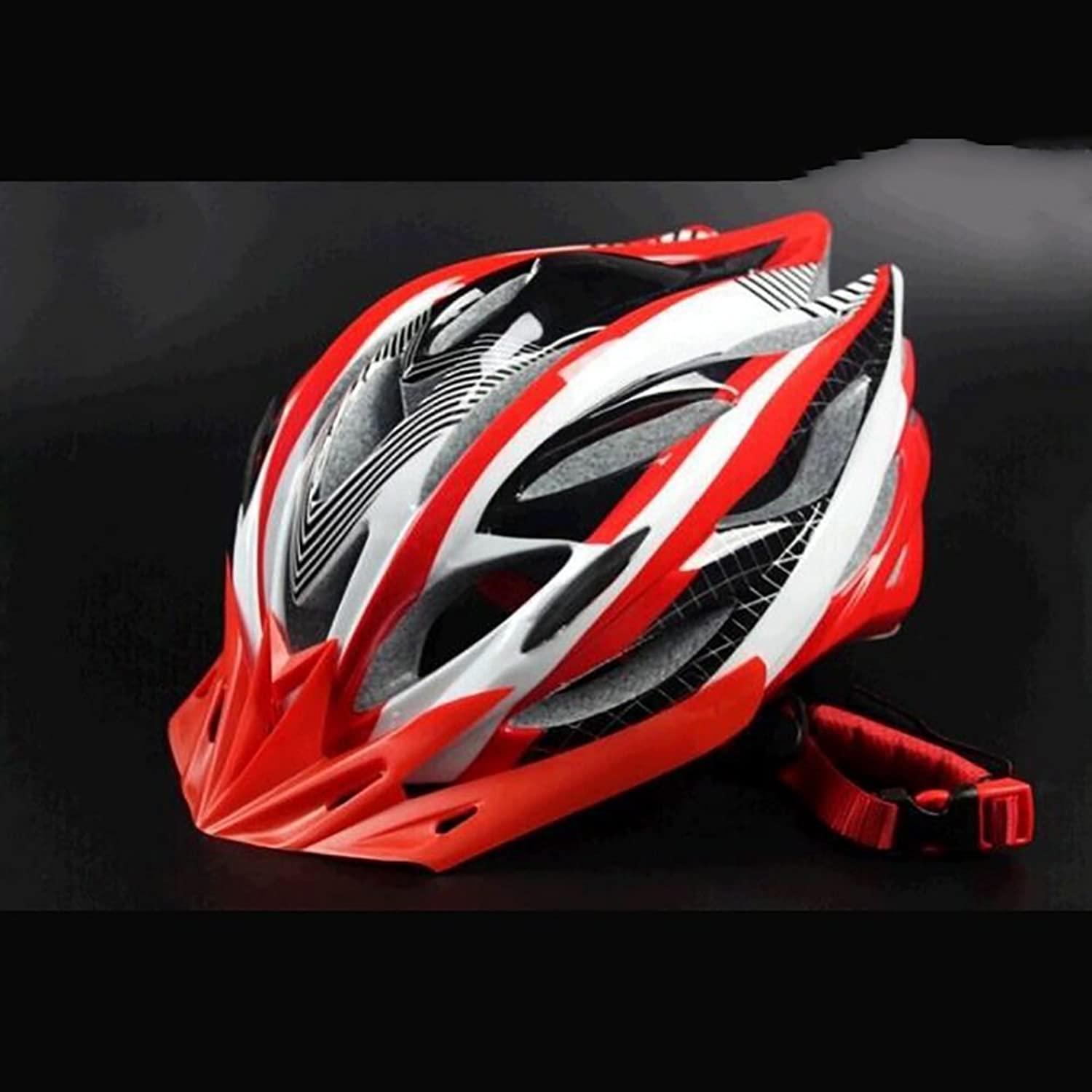 TOYM US Cycling Road Bike Ultralight OnePiece Riding Helmet One Size 5763cm