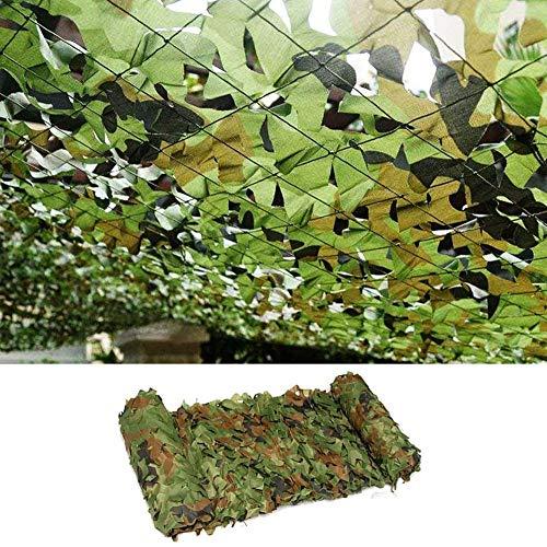 Yibcn Red De Camuflaje 150d, Camouflage Net Sombra, Mallas De Protección para El Bosque Ejército, para Acampar,Sol Al Aire Libre,decoración De La Fiesta del Tema,Cubiertas del Coche