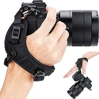 Mirrorless Camera Hand Grip Strap for Olympus OM-D E-M1 E-M1II, E-M5 E-M5II, E-M10 & Mark II III E-M10II E-M10III, PEN-F E-PL9 E-PL8 E-PL7 E-PL6 E-PL5 E-PL3 E-PM2 E-P3 Stylus 1s 1 SH-3 SH-2 SH-1 Black