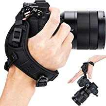 Mirrorless Camera Hand Strap Grip for Sony A7III A7II A7 A7RIII A7RII A7R A7SII A7S A9 A6500 A6400 A6300 A6000 A5100 Fujifilm GFX 50R XH1 X-Pro2 X-T3 X-T2 X-T30 X-T20 X100F Panasonic S1 S1R G95 G85 G7