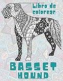 Basset Hound - Libro de colorear